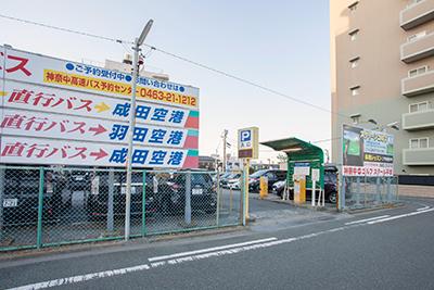第二駐車場入り口(南側)